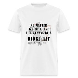No Matter Where I Live (dirty) - Mens Basic Tee - Men's T-Shirt