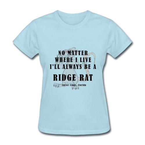 No Matter Where (dirty) - Womens Basic Tee - Women's T-Shirt