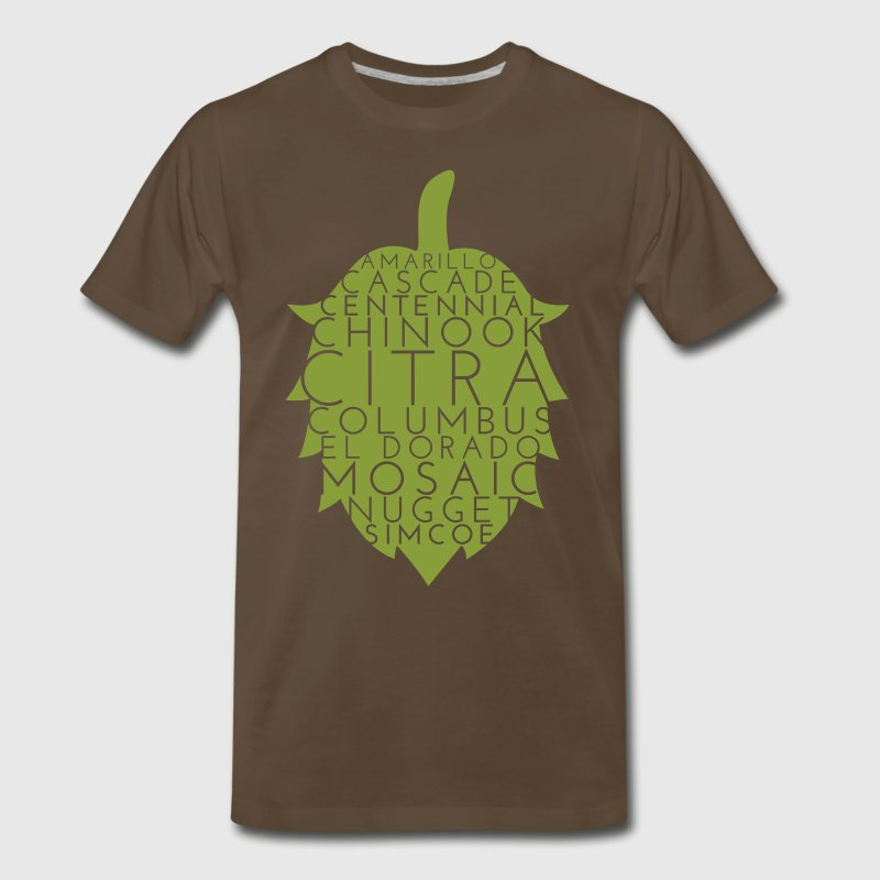 American Hops (CRAFT BEER) - Men's Premium T-Shirt