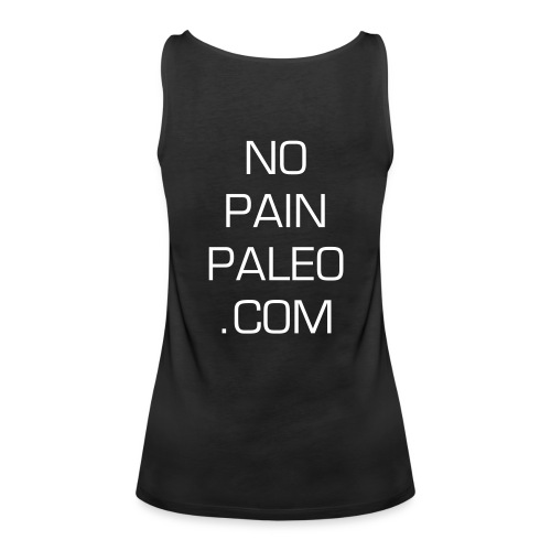 Fit, Fab and Paleo - Women's Premium Tank Top