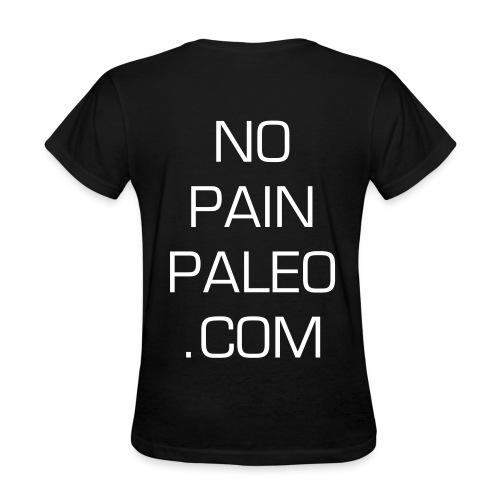 Fit, Fab and Paleo T - Women's T-Shirt