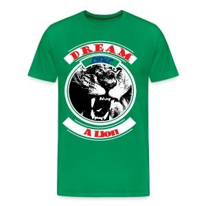 Lion Head - Men's Premium T-Shirt