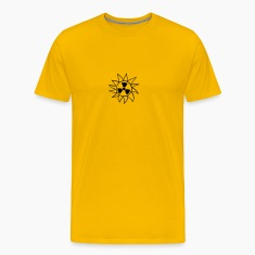 radioactive atomic bomb radiation rays uranium sun T-Shirts
