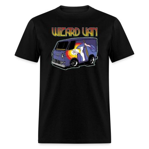 Wizard Van Men's T-Shirt Black - Men's T-Shirt