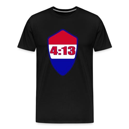 Paladin Shield 4:13 T-shirt - Men's Premium T-Shirt