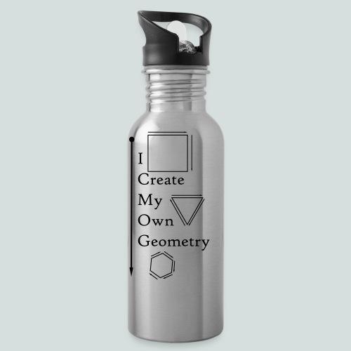 I create My Own Geometry - Water Bottle