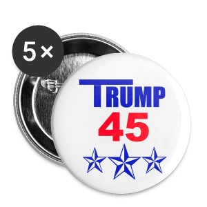 Trump 45 - Small Buttons