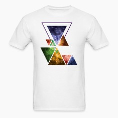 Art Triangle Galaxy T-Shirts