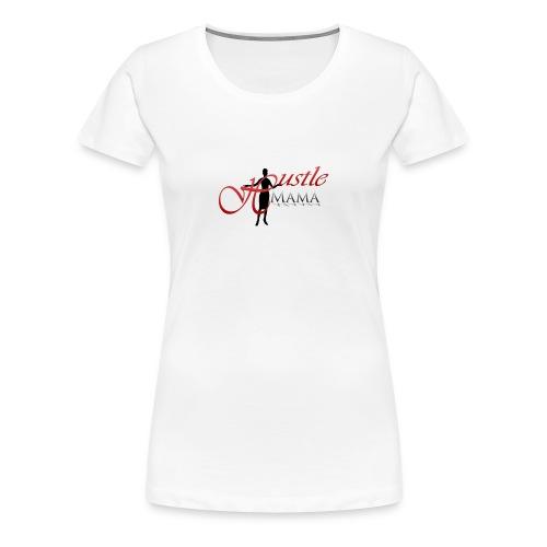 Hustle Mama Signature Logo Tee - Women's Premium T-Shirt