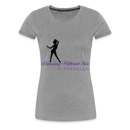 Logo T- DWSF on sleeve - Women's Premium T-Shirt