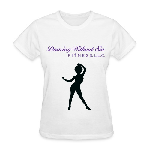 white tee - Women's T-Shirt