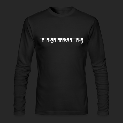 Wicked Dano Trainer Design - Men's Long Sleeve T-Shirt by Next Level