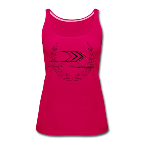 Ladies Pink Winners Reef - Women's Premium Tank Top