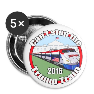 Trump train - Small Buttons