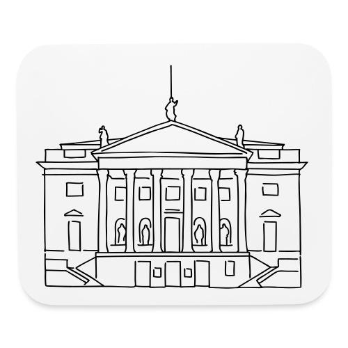 Berlin State Opera  - Mouse pad Horizontal