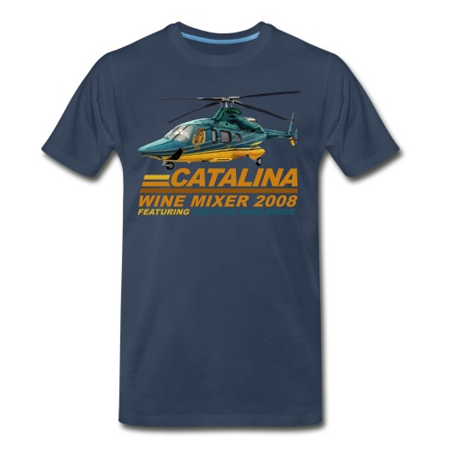 Catalina Wine Mixer - Men's Premium T-Shirt
