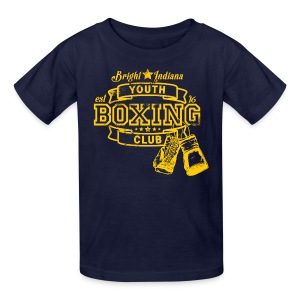 bright indiana youth boxing club  - Kids' T-Shirt