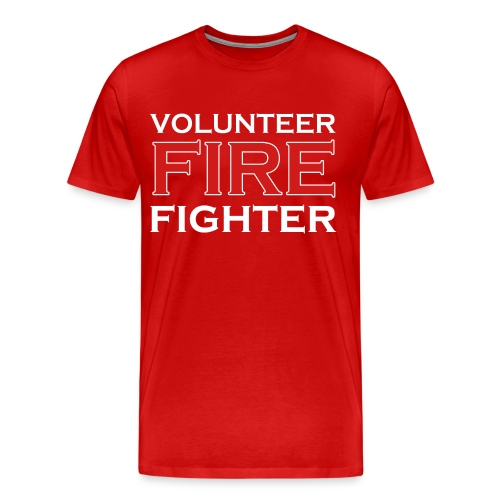 Volunteer Firefighter - Men's Premium T-Shirt