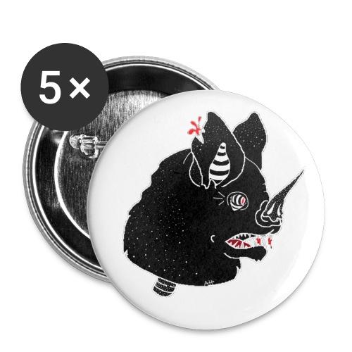 Bat Head pins - Small Buttons