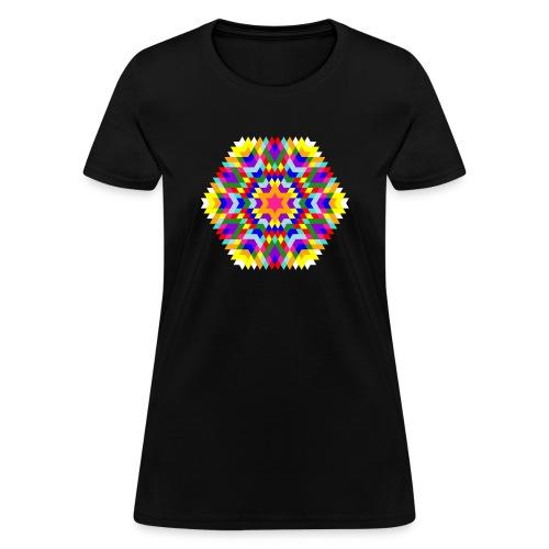Barack Obama Birthday Mandala - Women's T-Shirt