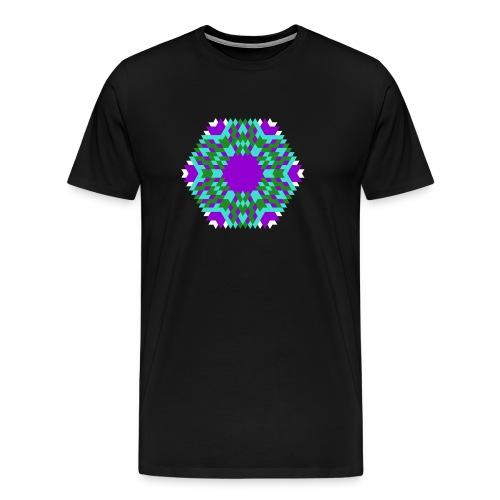 Johnny Depp Birthday Mandala - Men's Premium T-Shirt