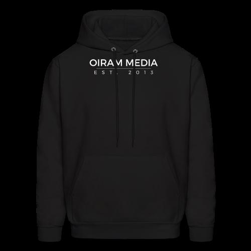 Oiram Media Text Hoodie - Men's Hoodie