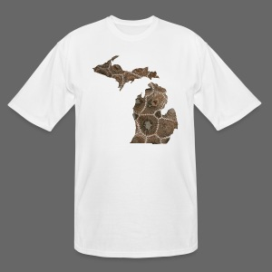 Men's Tall Detroit Shirt - Men's Tall T-Shirt