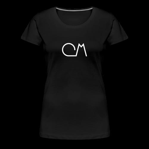 Oiram Media Logo Black Womens - Women's Premium T-Shirt
