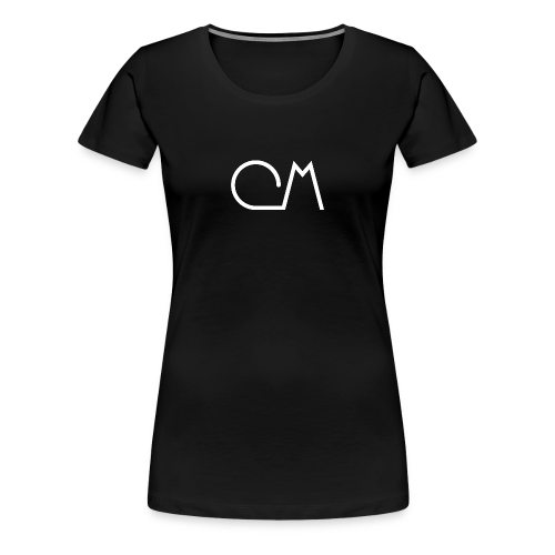 Oiram Media Logo Black Womens - Women's Premium T-Shirt