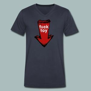 fucktoy - Men's V-Neck T-Shirt by Canvas