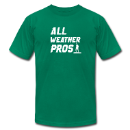 T-Shirts ~ Men's T-Shirt by American Apparel ~ All Weather Pro Graphic Tee