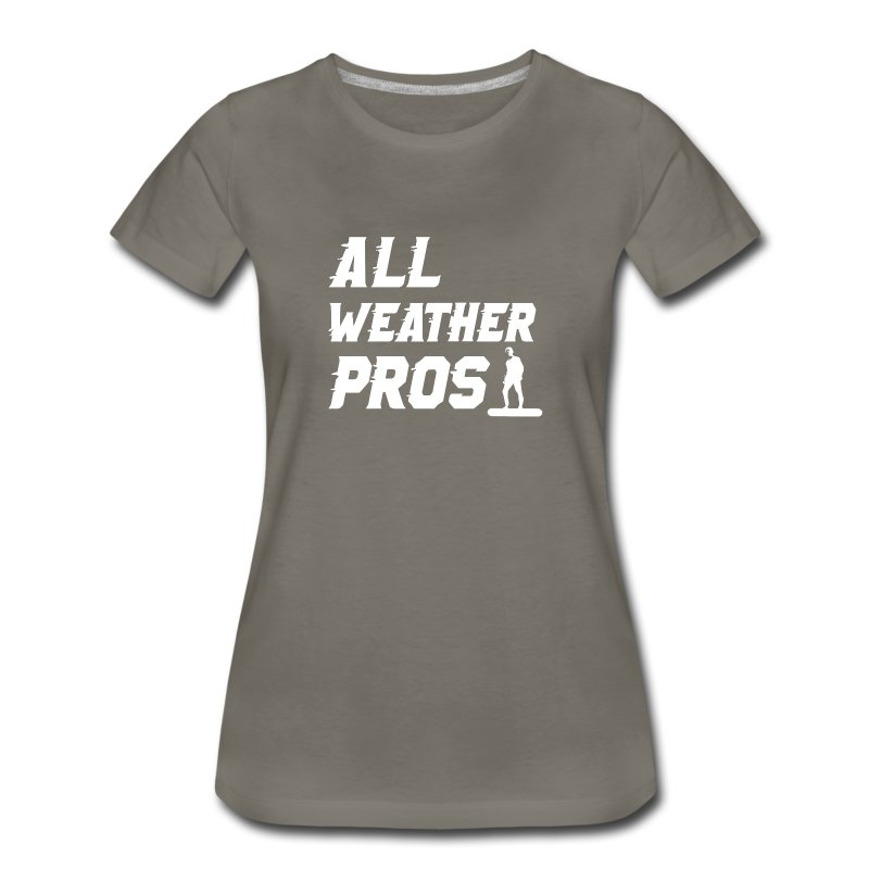 All Weather Pro Graphic Woman's Tee - Women's Premium T-Shirt