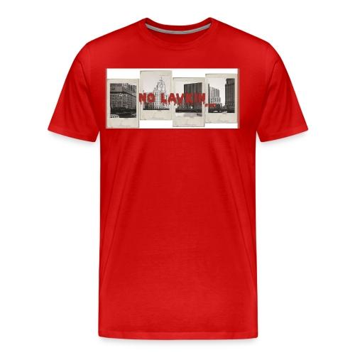 No Lavkin (Bridgin The Gap) Red Tee - Men's Premium T-Shirt
