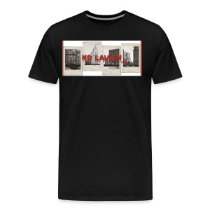 No Lavkin (Bridging The Gap) Black Tee - Men's Premium T-Shirt