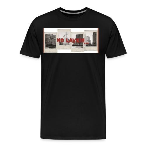 No Lavkin (Bridging The Gap) Black Tee - Men's Premium T-Shirt