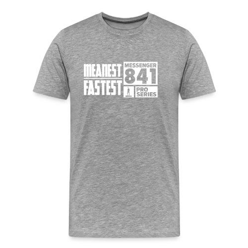 Messenger 841 Meanest and Fastest Logo T-shirt - Men's Premium T-Shirt