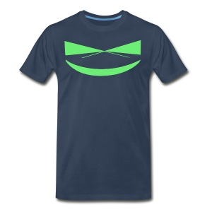 The Smile of a Noob Men's T-Shirt - Men's Premium T-Shirt