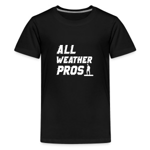 Messenger 841 All Weather Pros Logo T-shirt - Kids' Premium T-Shirt