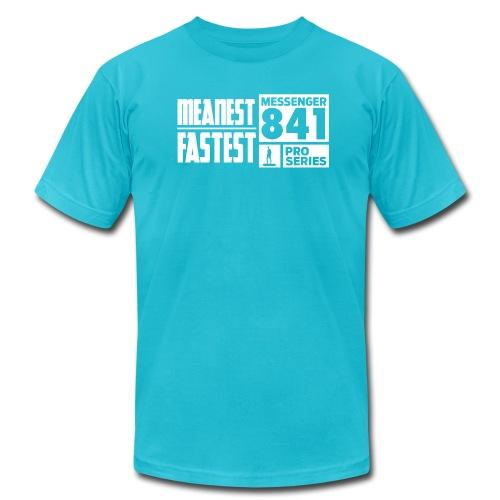 Messenger 841 Meanest and Fastest Logo T-shirt - Men's  Jersey T-Shirt