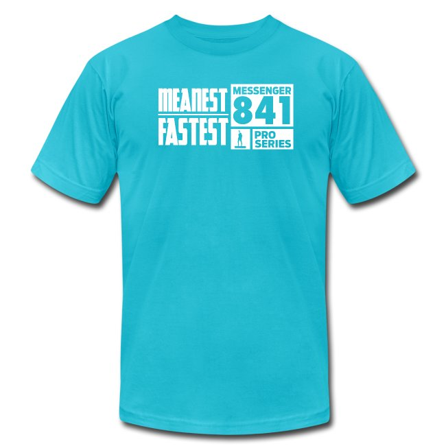 Messenger 841 Meanest and Fastest Logo T-shirt