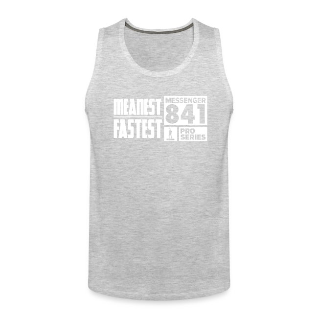 Messenger 841 Meanest and Fastest Men's Tank Top