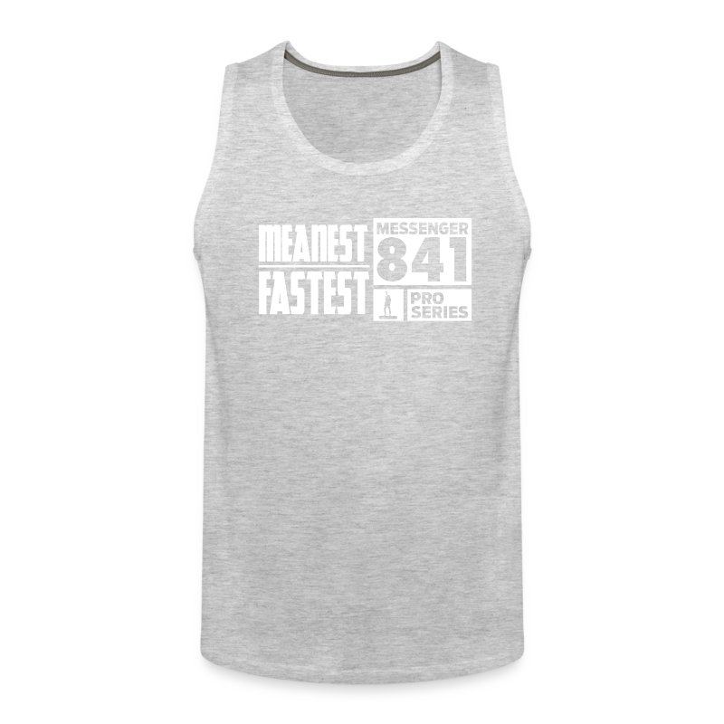 Messenger 841 Meanest and Fastest Men's Tank Top - Men's Premium Tank