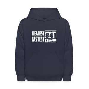 Messenger 841 Meanest and Fastest Hoodie - Kids' Hoodie