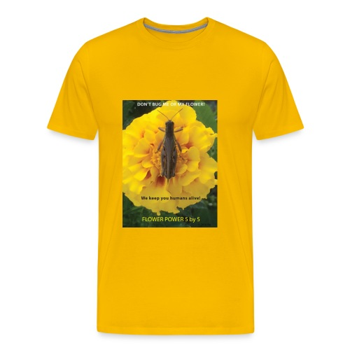 FLOWER POWER FIVE - Men's Premium T-Shirt