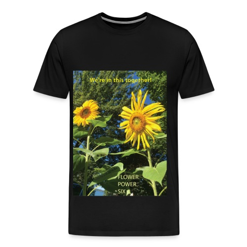 FLOWER POWER SIX - Men's Premium T-Shirt
