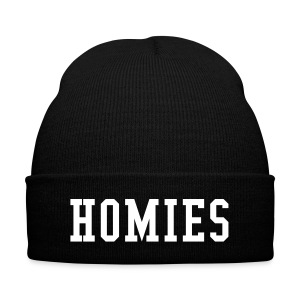 Homies Beanie! - Knit Cap with Cuff Print