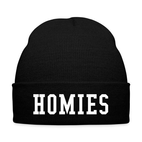 Homies Beanie! - Knit Cap with Cuff Print