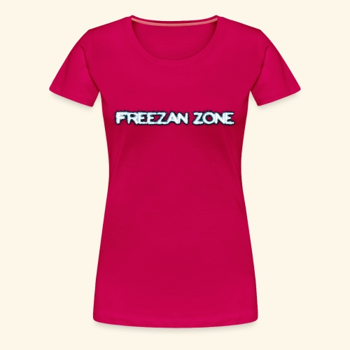 Freezan Zone Letter Shirt - Women's Premium T-Shirt