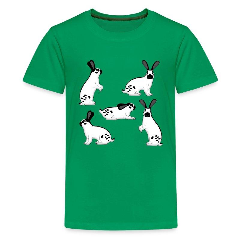 Rabbit 5x t shirt spreadshirt for Mens 5x polo shirts