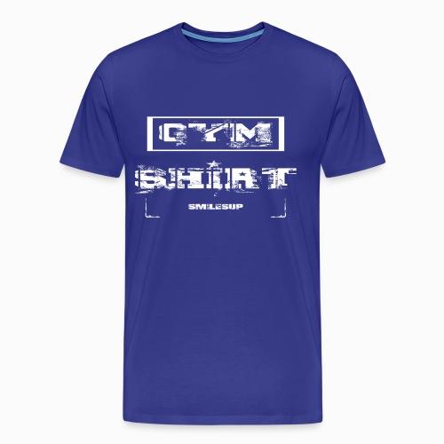 Mens Gym T  - Men's Premium T-Shirt